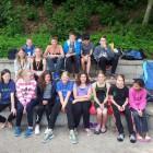 Die erfolgreiche Mannschaft des SV in Herford