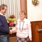 Ulrike Köhler wird zur Ehrenvorsitzenden ernannt