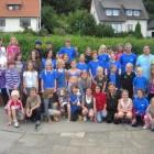Die erfolgreiche Nachwuchsmannschaft in Extertal